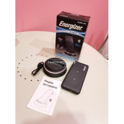 Energizer 2-in-1 Wireless Charging Station for iPhones & Android Devices (QE10006PQ)