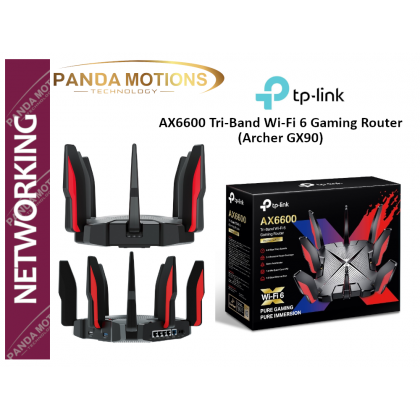 TP-Link AX6600 Tri-Band Wi-Fi 6 Gaming Router (Archer GX90)
